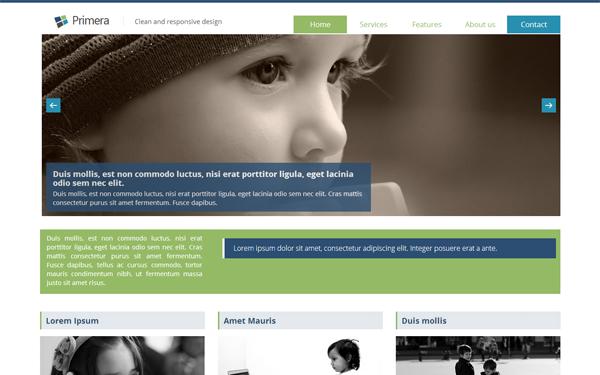 Primera – Clean & Responsive Design Free Download