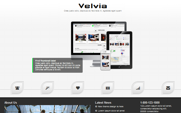 Velvia – Responsive Outstanding HTML5 Free Download