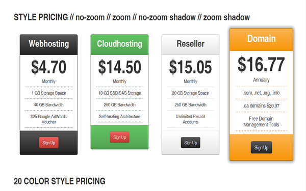 Nyooh Pricing Tables Free Download