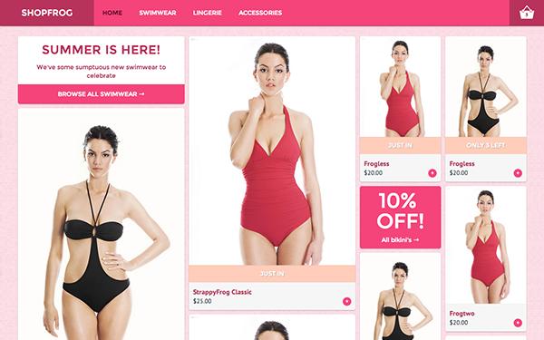 Shopfrog – Modern E-Commerce Free Download