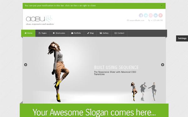 Abbu – Responsive Business Theme Free Download