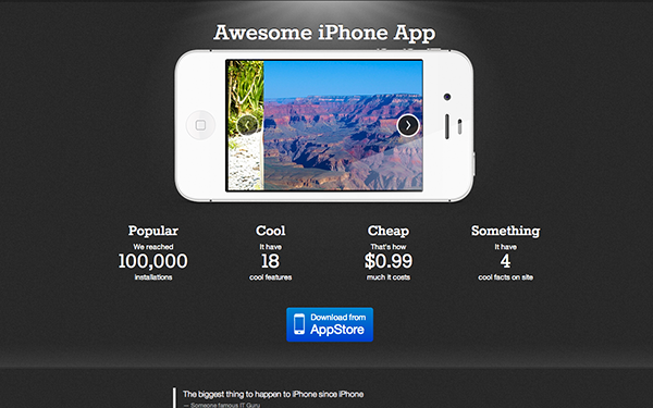 Theme for Awesome iPhone App Free Download