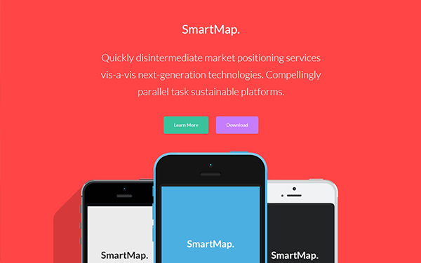SmartMap – Multi-Page Landing Page Free Download