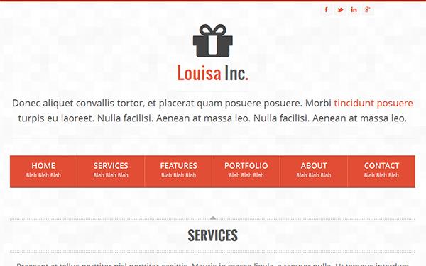 Responsive Professional Portfolio Theme Free Download