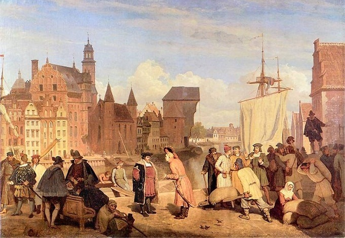 17th century Danzig