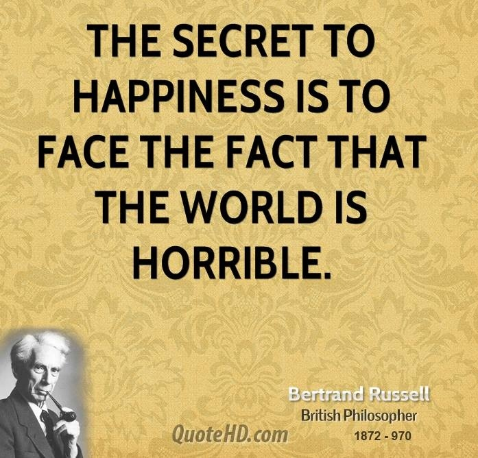 Bertrand Russell on happiness