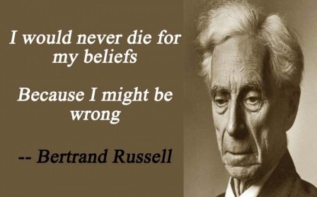 Bertrand Russell on belief
