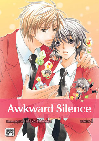 Awkward Silence, Volume 3 by Hinako Takanaga (English) Paperback Book