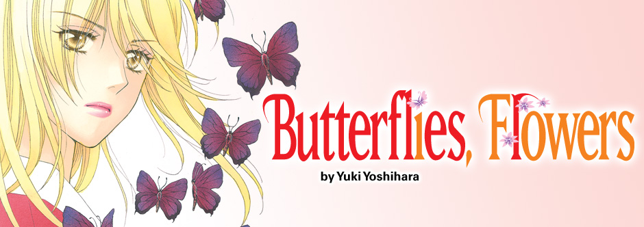 Butterflies, Flowers