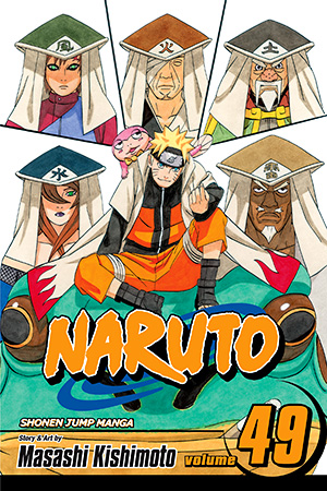 Naruto Vol. 49: The Gokage Summit Commences