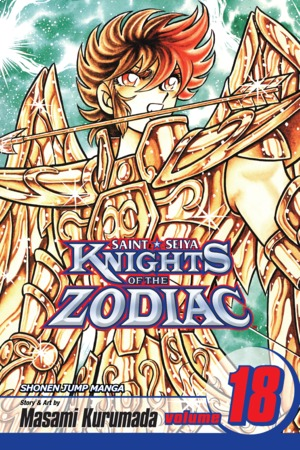 Knights of the Zodiac (Saint Seiya) Vol. 18: The End of the Azure Waves