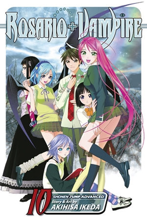 Rosario+Vampire Vol. 10: Lesson Ten: Magic Mirror