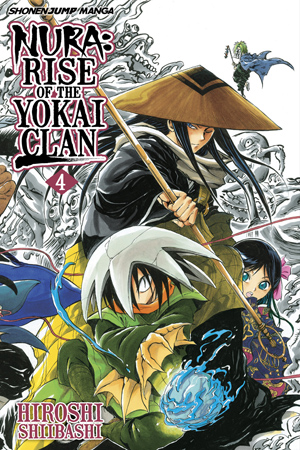 Nura: Rise of the Yokai Clan Vol. 4: 88 Demons of Shikoku