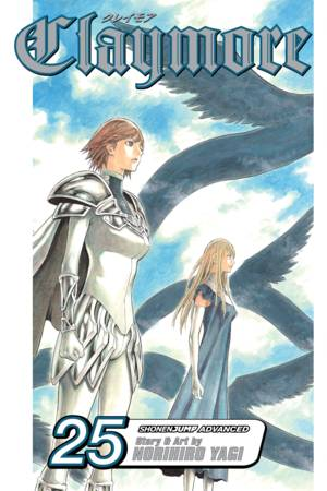 Claymore Vol. 25: Sword of the Dark Deep