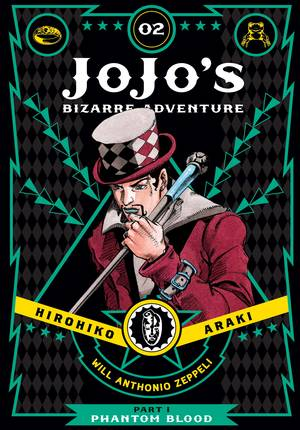 JoJo's Bizarre Adventure: Part 1--Phantom Blood Vol. 2: JoJo's Bizarre Adventure: Part 1--Phantom Blood, Volume 2