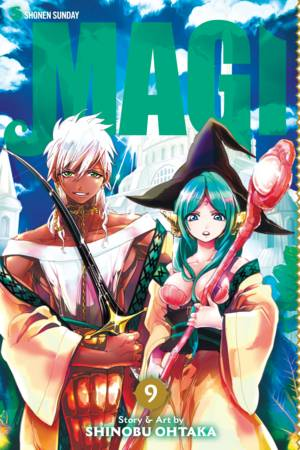 Magi: The Labyrinth of Magic, Volume 9