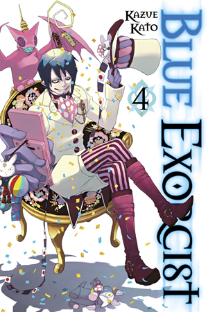 Blue Exorcist Vol. 4: Blue Exorcist, Volume 4