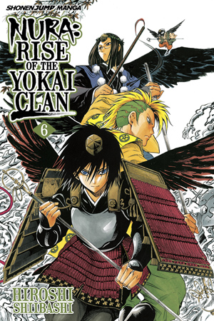 Nura: Rise of the Yokai Clan Vol. 6: The House Where Jyami Wanders