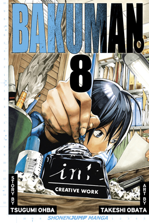 Bakuman Vol. 8: Panty Shot and Savior