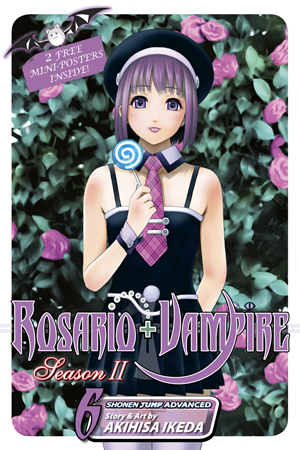 Rosario+Vampire: Season II Vol. 6: Gangstah