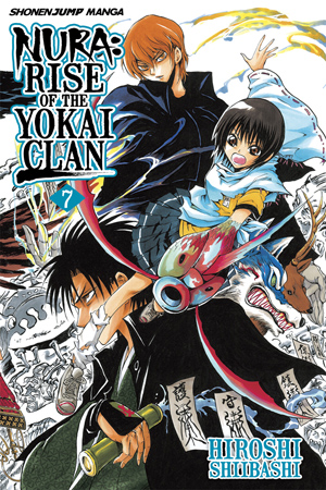 Nura: Rise of the Yokai Clan Vol. 7: The Three Keikain Siblings