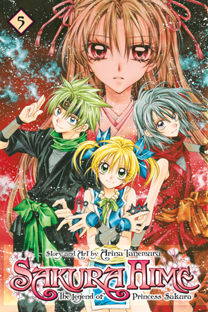 Sakura Hime: The Legend of Princess Sakura  Vol. 5: Sakura Hime: The Legend of Princess Sakura, Volume 5