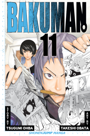 Bakuman Vol. 11: Title and Character Design