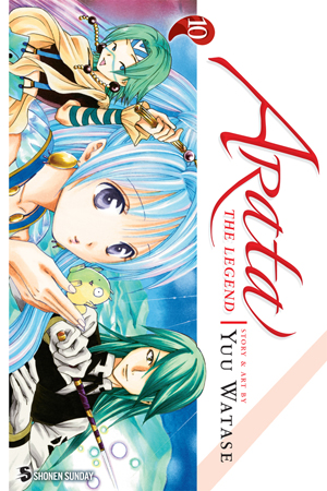 Arata: The Legend Vol. 10: Arata: The Legend, Volume10