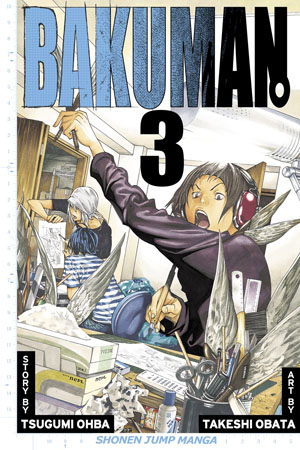 Bakuman Vol. 3: Debut and Impatience
