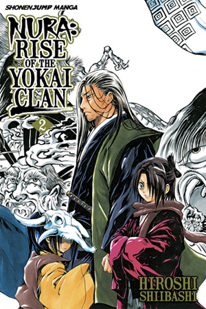 Nura: Rise of the Yokai Clan Vol. 2: Rikuo vs. Gyuki