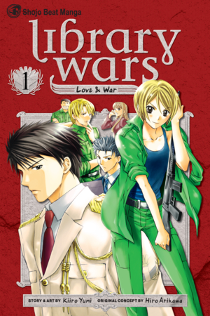 Library Wars: Love & War, Volume 1