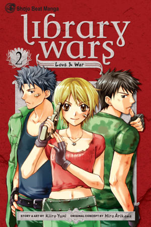 Library Wars Vol. 2: Library Wars: Love & War, Volume 2