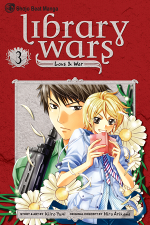 Library Wars: Love &amp; War, Volume 3