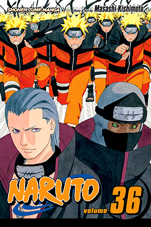 Naruto Vol. 36: Cell Number 10