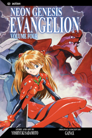 Neon Genesis Evangelion Vol. 4: the woman whom thou gavest to be with me