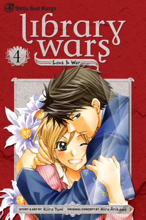 Library Wars: Love &amp; War, Volume 4