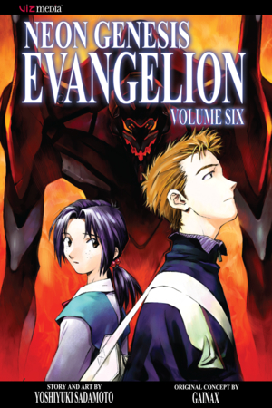 Neon Genesis Evangelion Vol. 6: let me go, for the day breaketh