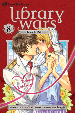 Library Wars: Love &amp; War, Volume 8