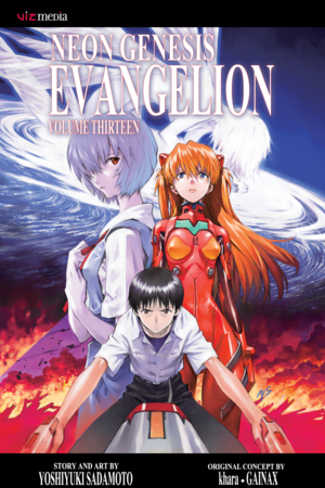 Neon Genesis Evangelion Vol. 13: And there appeared a great wonder in heaven; a woman clothed with the sun