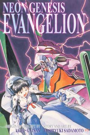 NGE 3-in-1 Vol. 1 Cover