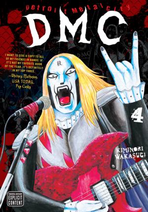 Detroit Metal City Vol. 4: Detroit Metal City, Volume 4