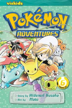Pokémon Adventures, Volume 6
