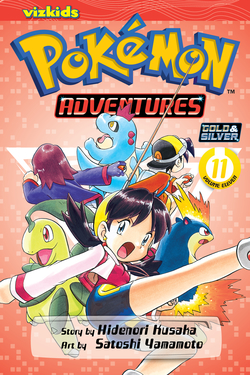 Pokémon Adventures, Volume 11