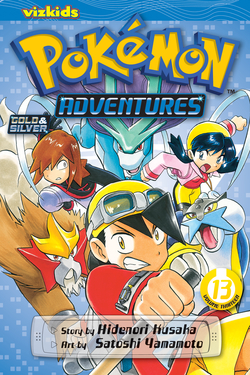 Pokémon Adventures, Volume 13