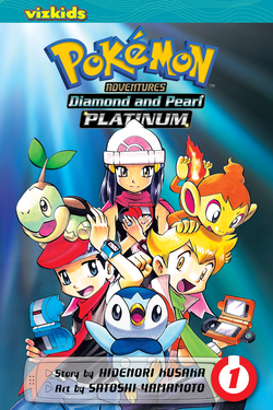 Pokémon Adventures: Diamond and Pearl/Platinum, Volume 1