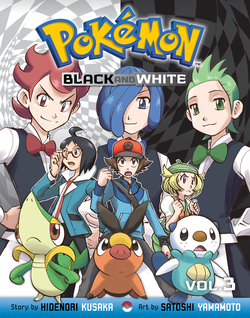 Pokémon Black and White, Volume 3