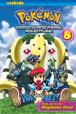 Pokémon Diamond and Pearl Adventure!, Volume 8