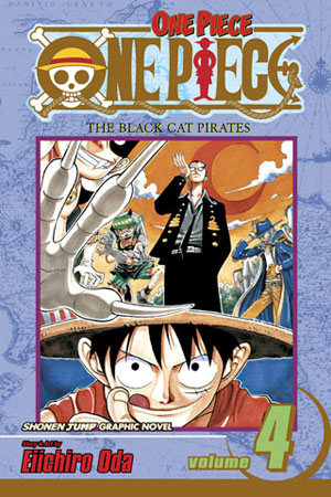 One Piece Vol. 4: The Black Cat Pirates