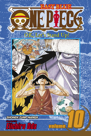 One Piece Vol. 10: OK, Let's Stand Up!