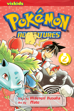 Pokémon Adventures, Volume 2